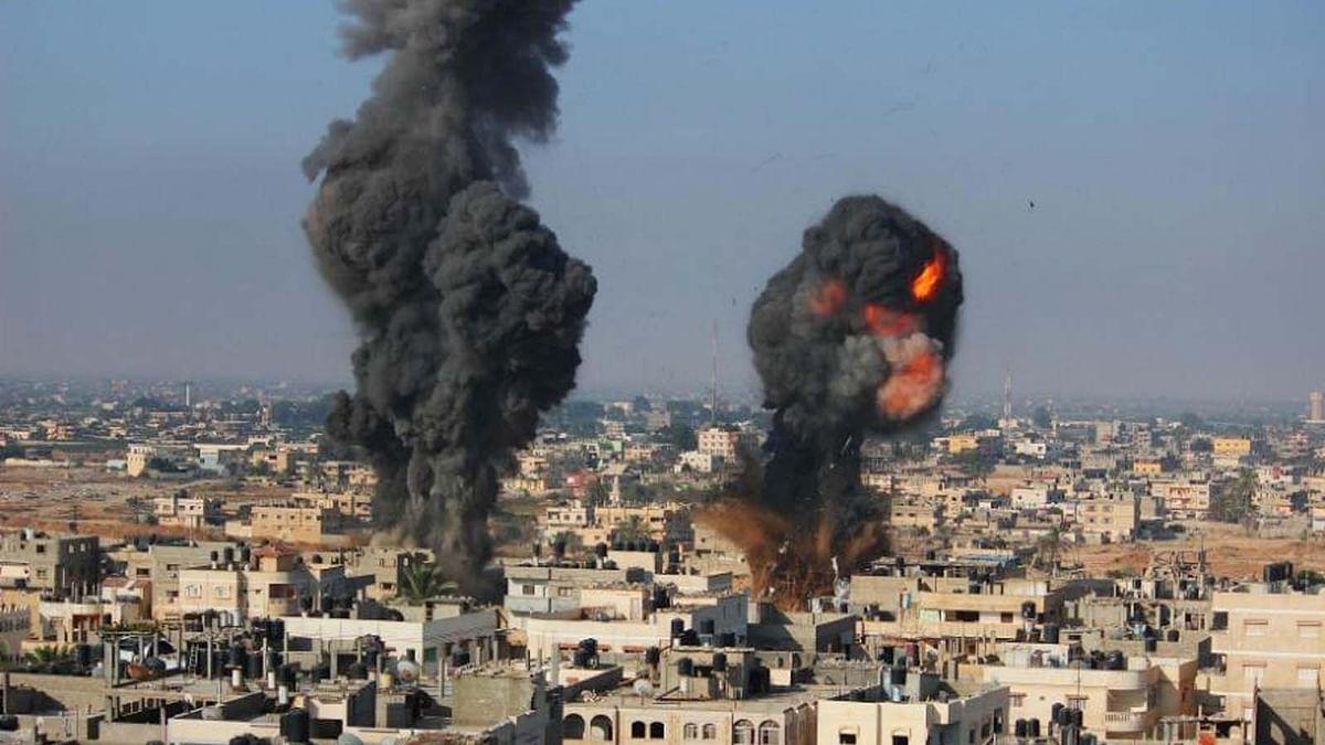 इजरायल और फिलिस्तीन के बीच संघर्ष जारी- दोनों ओर से हो रही ताबड़तोड बमवर्षा
