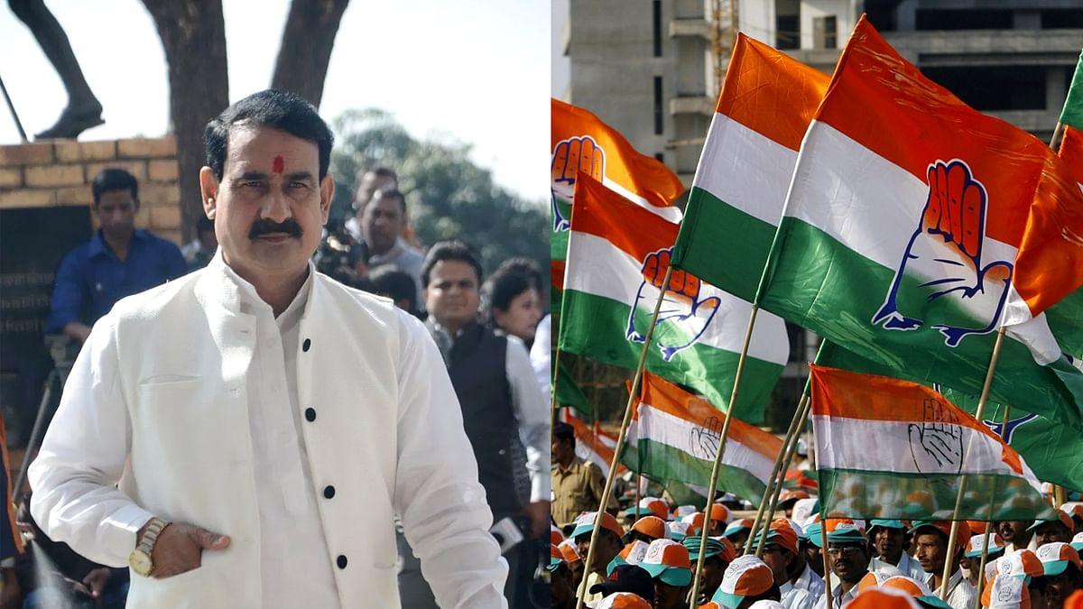 संकट में कांग्रेस ओछी राजनीति करने से नहीं आ रही बाज, मंत्री मिश्रा का बयान