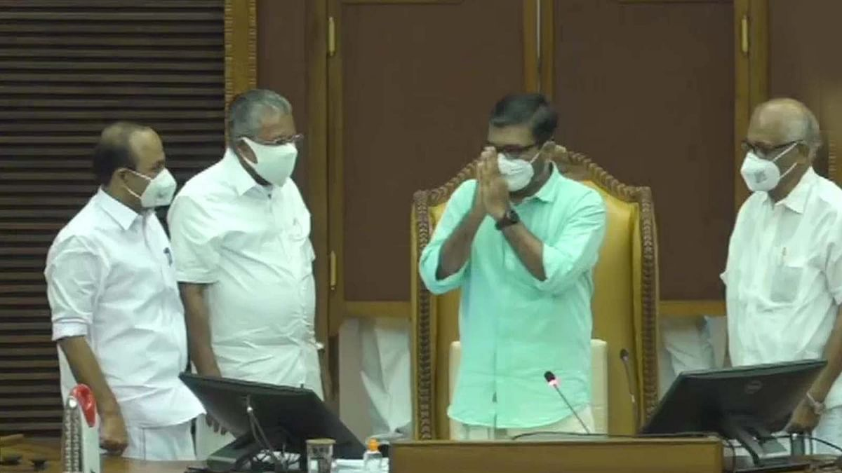 केरल विधानसभा अध्यक्ष पद के लिए LDF विधायक एम बी राजेश चयनित