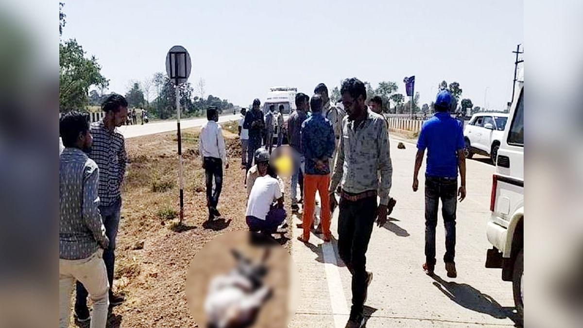 जबलपुर: तेज रफ्तार दो बाइक की हुई टक्कर, हादसे में एक की दर्दनाक मौत