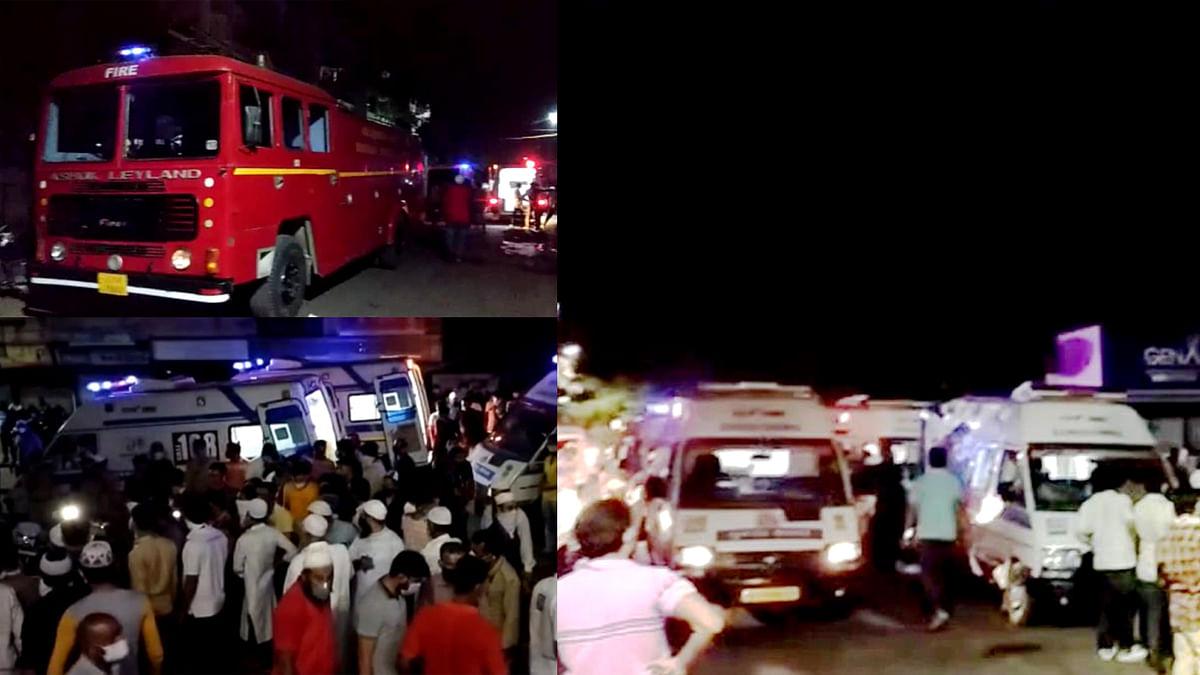 गुजरात: जनरेशन अस्पताल से उठी भीषण आग की लपटें, ICU में थे 70 से ऊपर मरीज