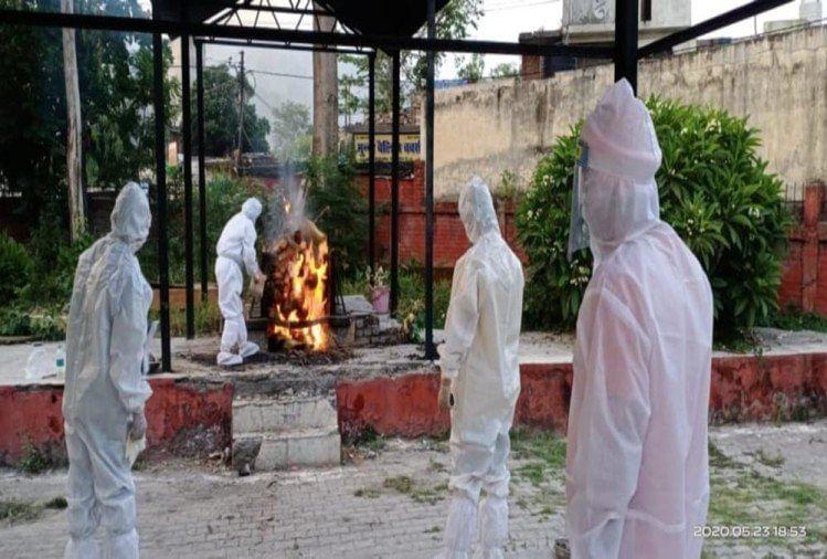 औरैया में कोरोना संक्रमित का दाह संस्कार होगा नि:शुल्क