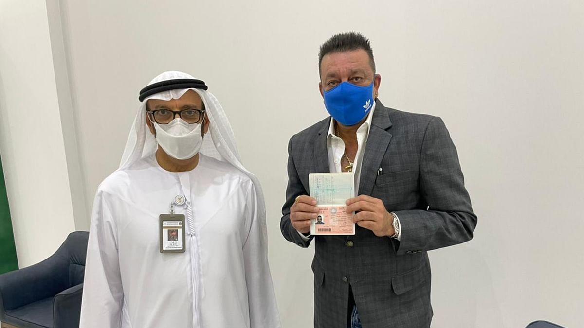 संजय दत्त को मिला UAE का गोल्डन वीजा, पोस्ट शेयर कर दी जानकारी