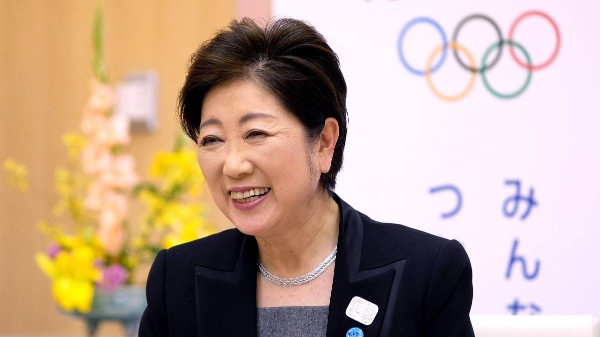 टोक्यो ओलंपिक रद्द करने को लेकर टोक्यो गवर्नर युरिको कोइके को सौंपी याचिका
