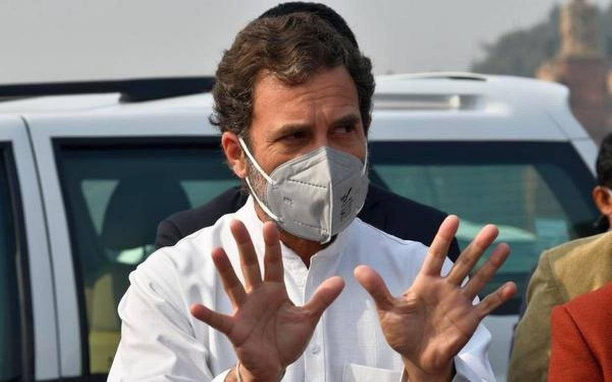 कोविड की राहत सामग्री बांटने पर IYC चीफ से पूछताछ को लेकर भड़के राहुल गांधी