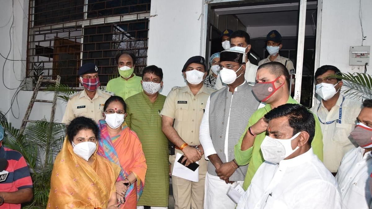 पूर्व सीएम नाथ के बयान पर भाजपा विधायकों ने एएसपी से FIR करने की मांग की