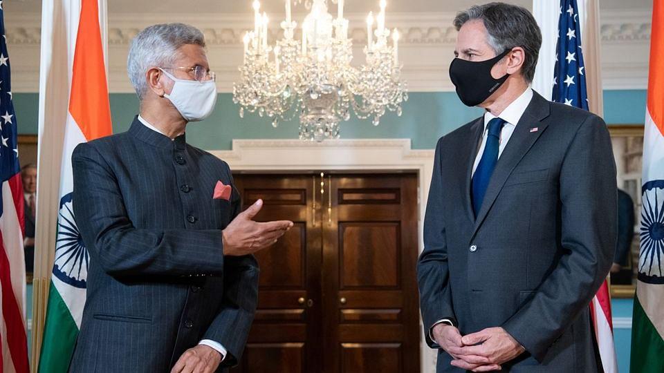 ब्लिंकन से मिले जयशंकर, विभिन्न मुद्दों पर की चर्चा