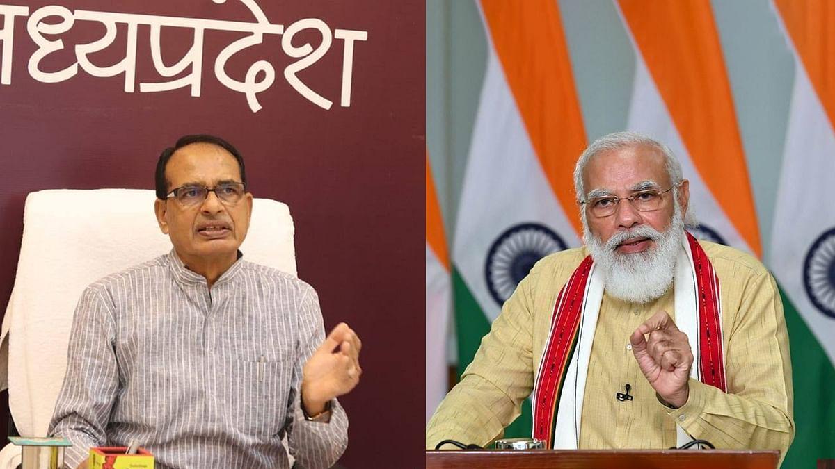 सीएम चौहान ने पीएम मोदी से की चर्चा, MP में कोरोना की स्थिति से कराया अवगत