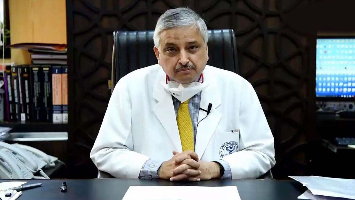 दिल्ली एम्स के डायरेक्टर ने ब्लैक फंगस के बारे में दी यह अहम जानकारी