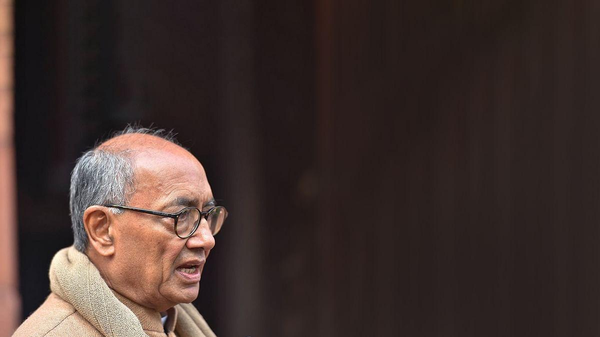 नेहरू और मोदी पर किए ट्वीट को लेकर ट्रोल हुए दिग्गी, यूजर्स ने किए कमेंट्स