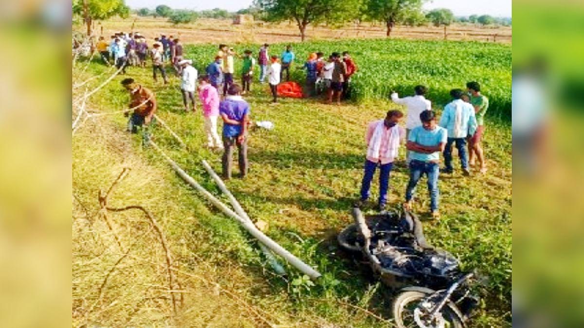 श्योपुर: बाइक और कार की हुई जोरदार टक्कर, हादसे में भाई-बहन की मौके पर मौत