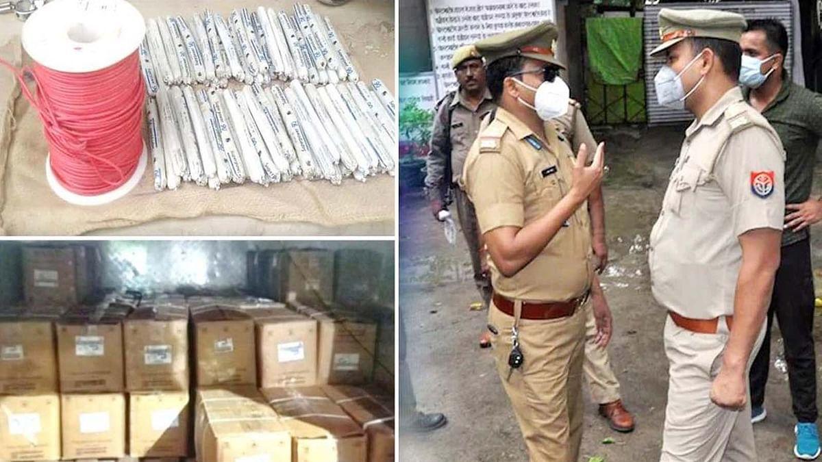 ठाणे पुलिस ने छापेमारी कर भारी मात्रा में जिलेटिन छड़ों का जखीरा किया बरामद