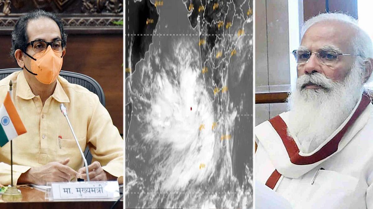 महाराष्ट्र: चक्रवात तूफान तौकते के मद्देनजर PM मोदी ने CM ठाकरे को किया कॉल