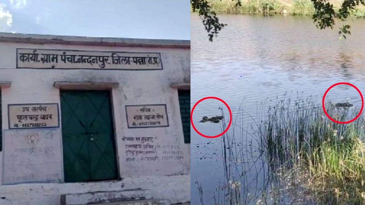 पन्ना समाचार: जिले की रूंज नदी में मिली दो लाशें, कलेक्टर-एसपी मौके पर डटे