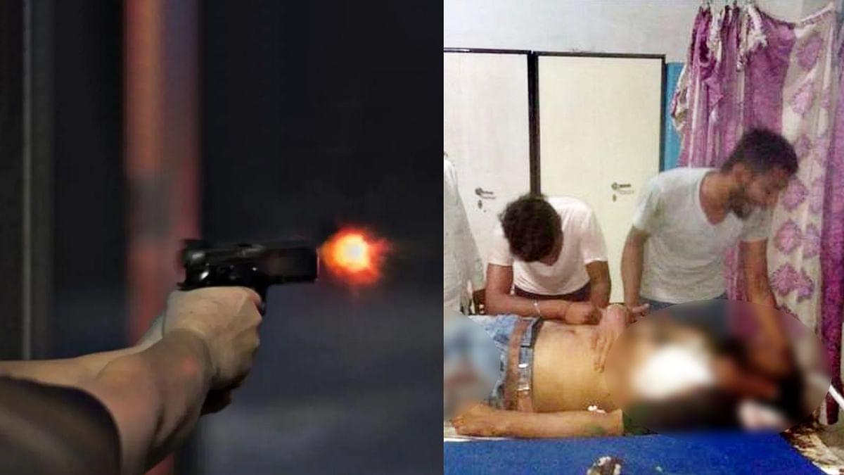 जमीन विवाद बना खूनी संघर्ष, रिटायर्ड फौजी को गोली मारकर उतारा मौत के घाट