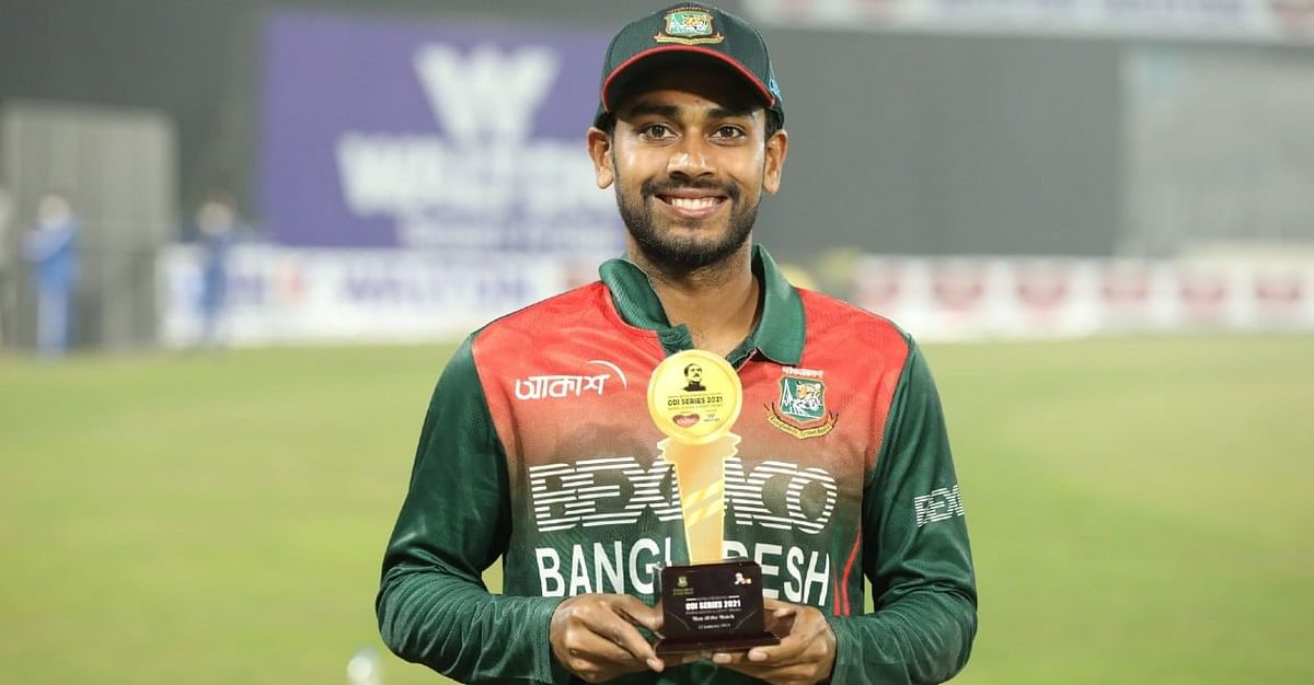 दुनिया के दूसरे नंबर के वनडे गेंदबाज बने बंगलादेश के मेहदी हसन