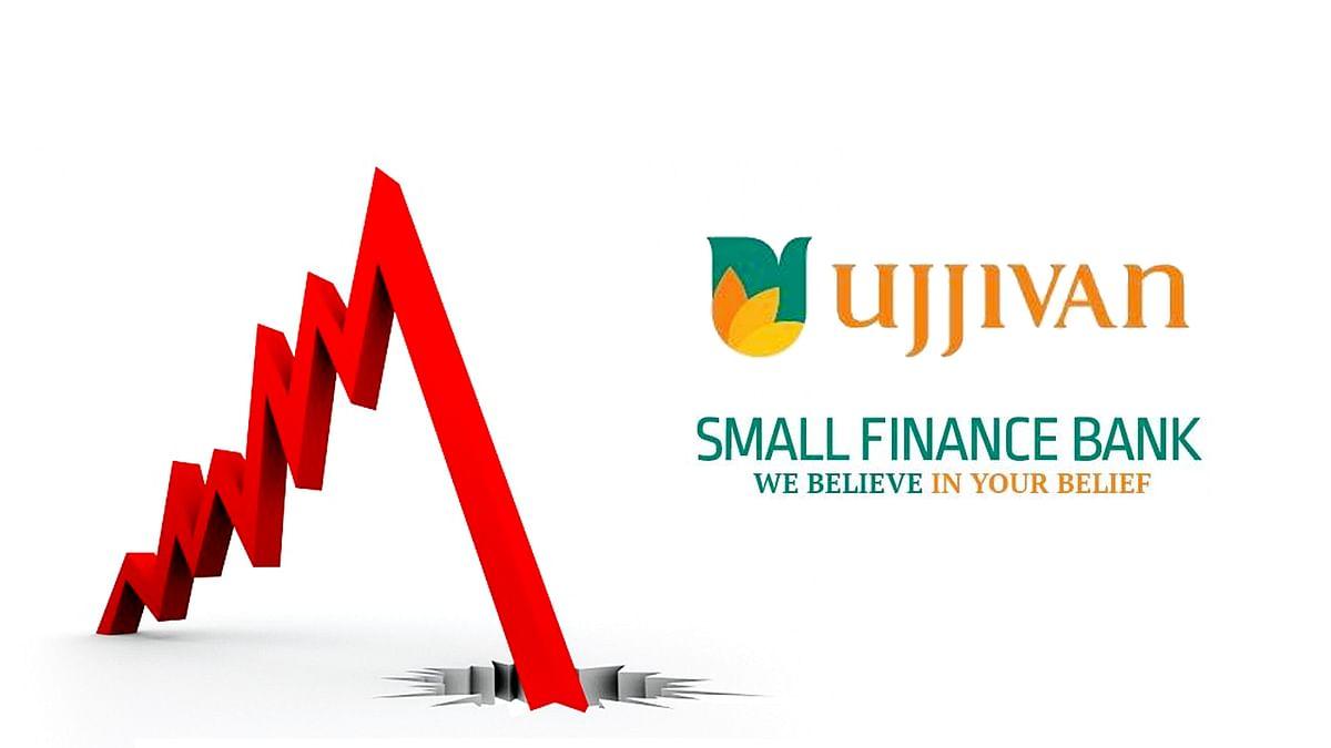 चौथी तिमाही में Ujjivan SFB's के प्रदर्शन से चिंतित बाजार, स्टॉक 8% डूबा