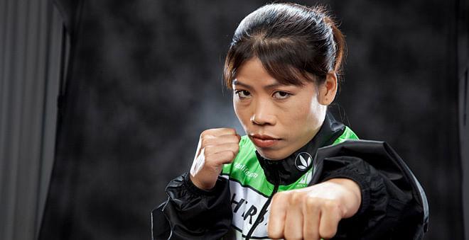दो ओलंपिक टिकटधारी महिला मुक्केबाजों के साथ अभ्यास करेंगी मैरीकॉम