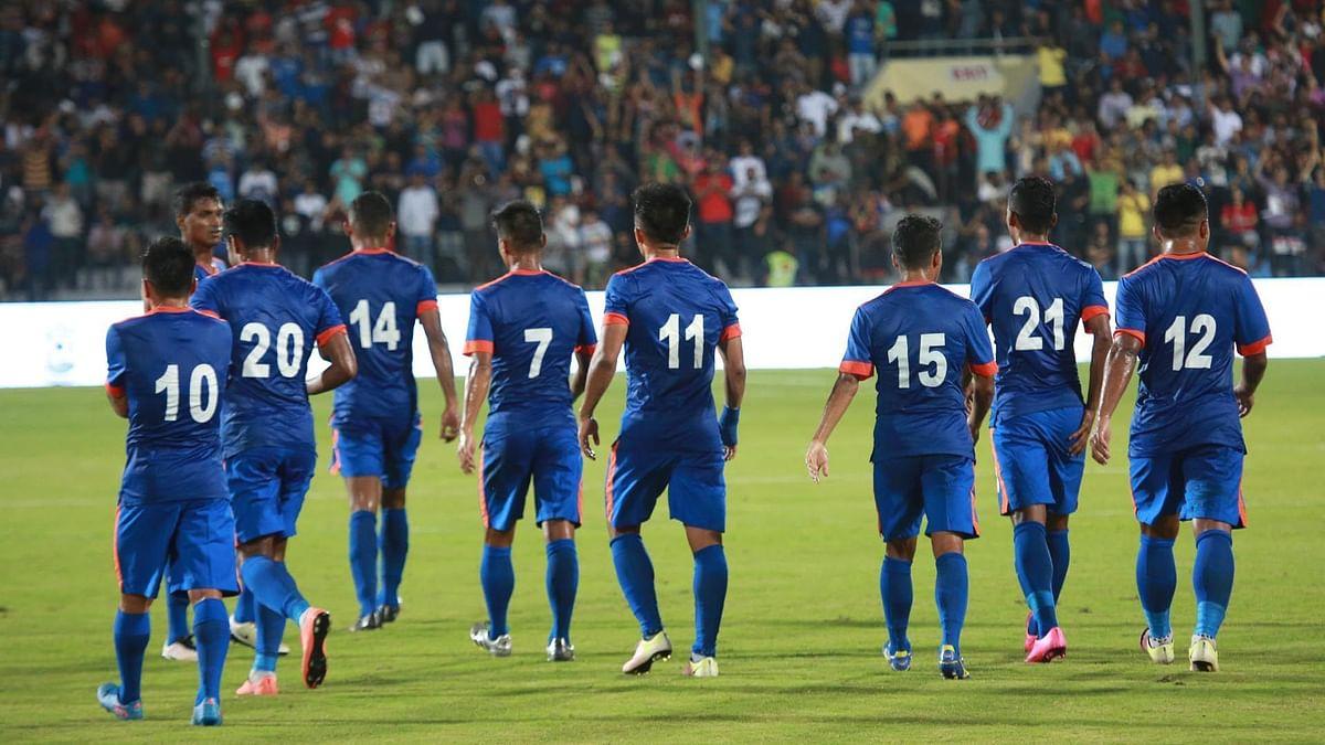 भारतीय फुटबॉल टीम ने कोरोना टेस्ट नेगेटिव आने के बाद शुरू किया प्रशिक्षण