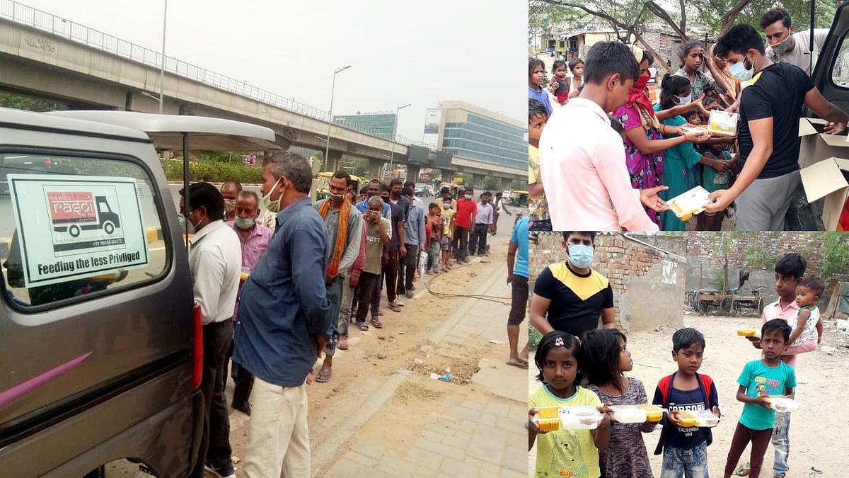 दिल्ली एफसी ने दिल्ली में 2200 से अधिक जरूरतमंदों को बांटा भोजन