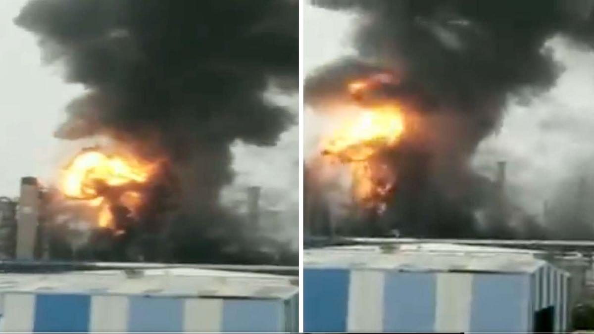 आंध्र प्रदेश: विशाखापट्टनम के HPCL प्लांट में भीषण आग का मचा तहलका