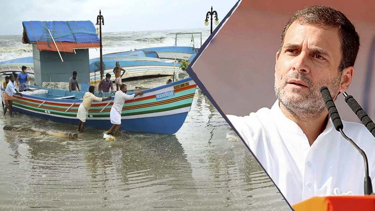 चक्रवात तूफान 'तौकते' पर राहुल गांधी ने कांग्रेस कार्यकर्ताओं से की ये अपील