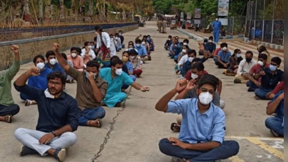 आज से प्रदेश भर के जूडा गए हड़ताल पर, इमरजेंसी सेवाओं का किया बहिष्कार