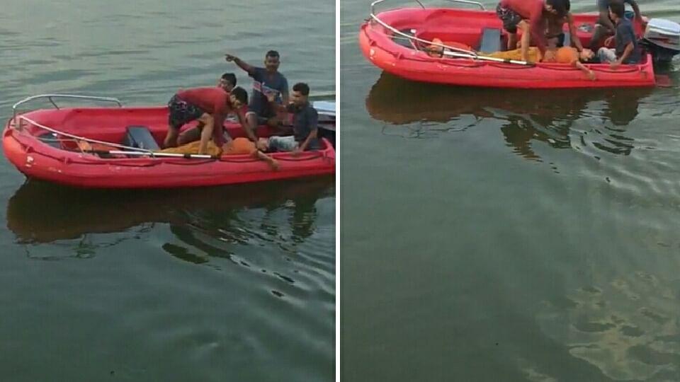 भोपाल की घटना: लड़की ने बड़े तालाब में लगाई छलांग, लड़के ने कूदकर बचाई जान