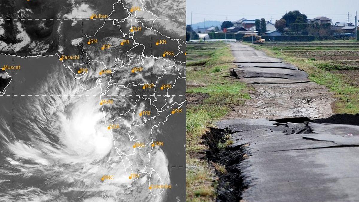 गुजरात में तूफान तौकते के संकट के बीच भूकंप से कांपी राजकोट की धरती