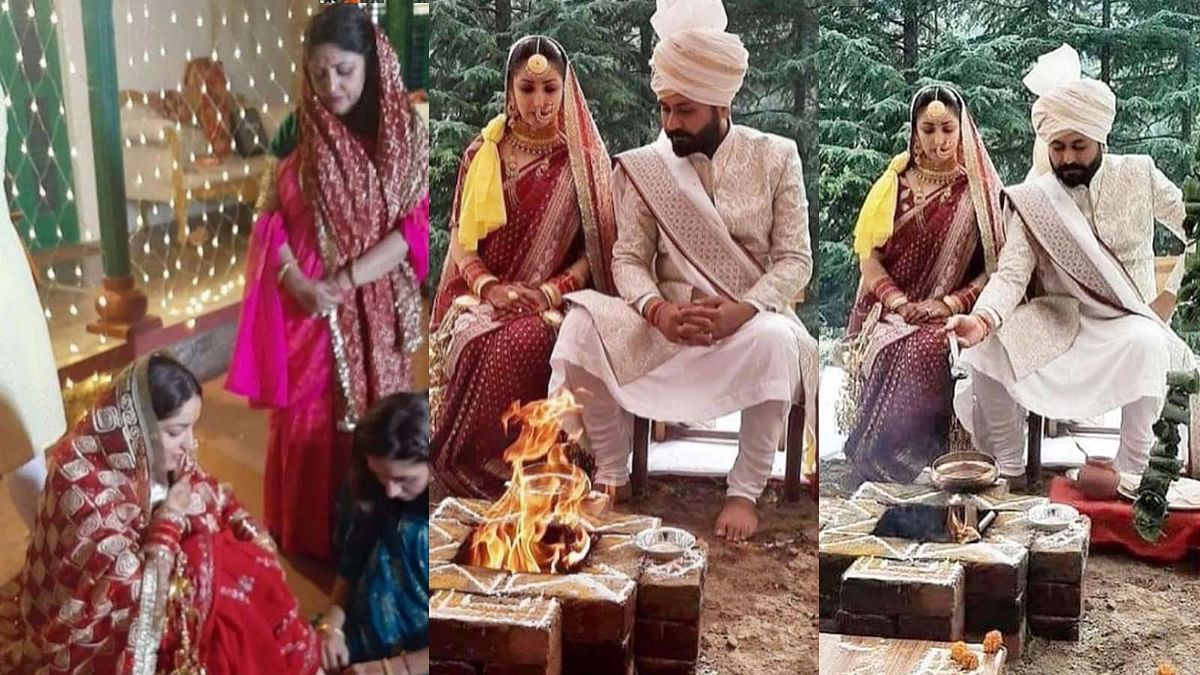 यामी गौतम ने निर्देशक संग लिए सात फेरे, देखें शादी और मेहंदी की तस्वीरें