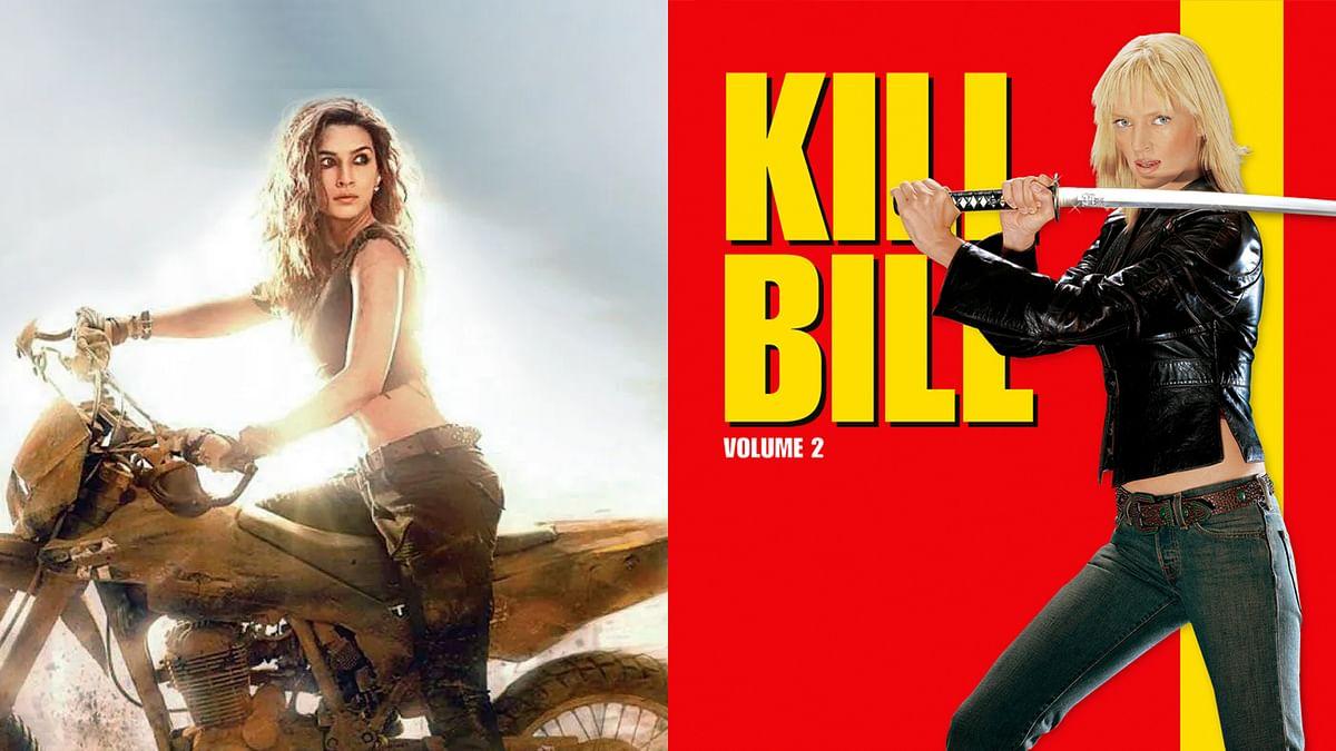 Kill Bill के हिंदी रीमेक में नजर आ सकती हैं कृति सेनन,करेंगीं जबरदस्त एक्शन