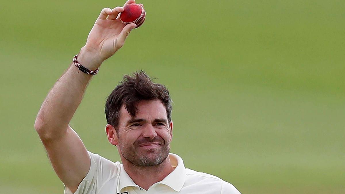 इंग्लैंड के लिए सर्वाधिक टेस्ट खेलने वाले खिलाड़ी बने जेम्स एंडरसन