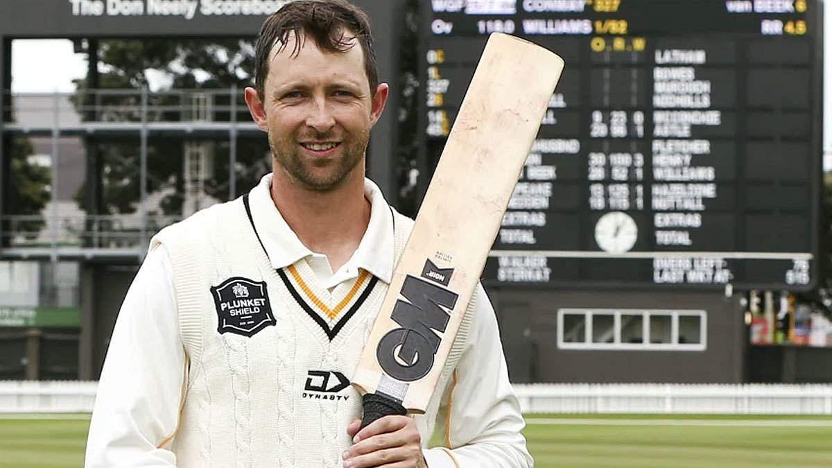 कॉनवे ने पदार्पण टेस्ट में ठोका शानदार शतक, न्यूज़ीलैंड मजबूत