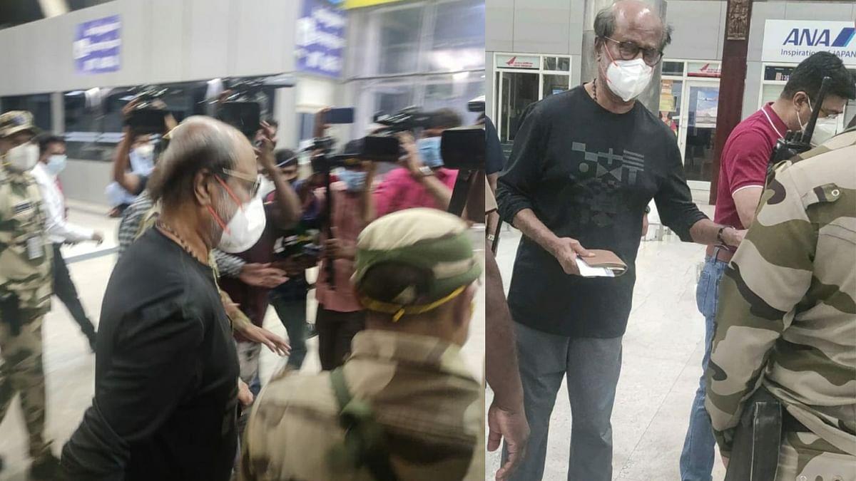 रूटीन चेकअप के लिए अमेरिका रवाना हुए Rajinikanth, सामने आया वीडियो