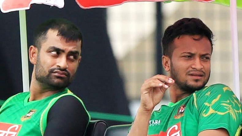 Tamim Iqbal और Shakib Al Hasan ने DPL से बाहर होने का लिया फैसला