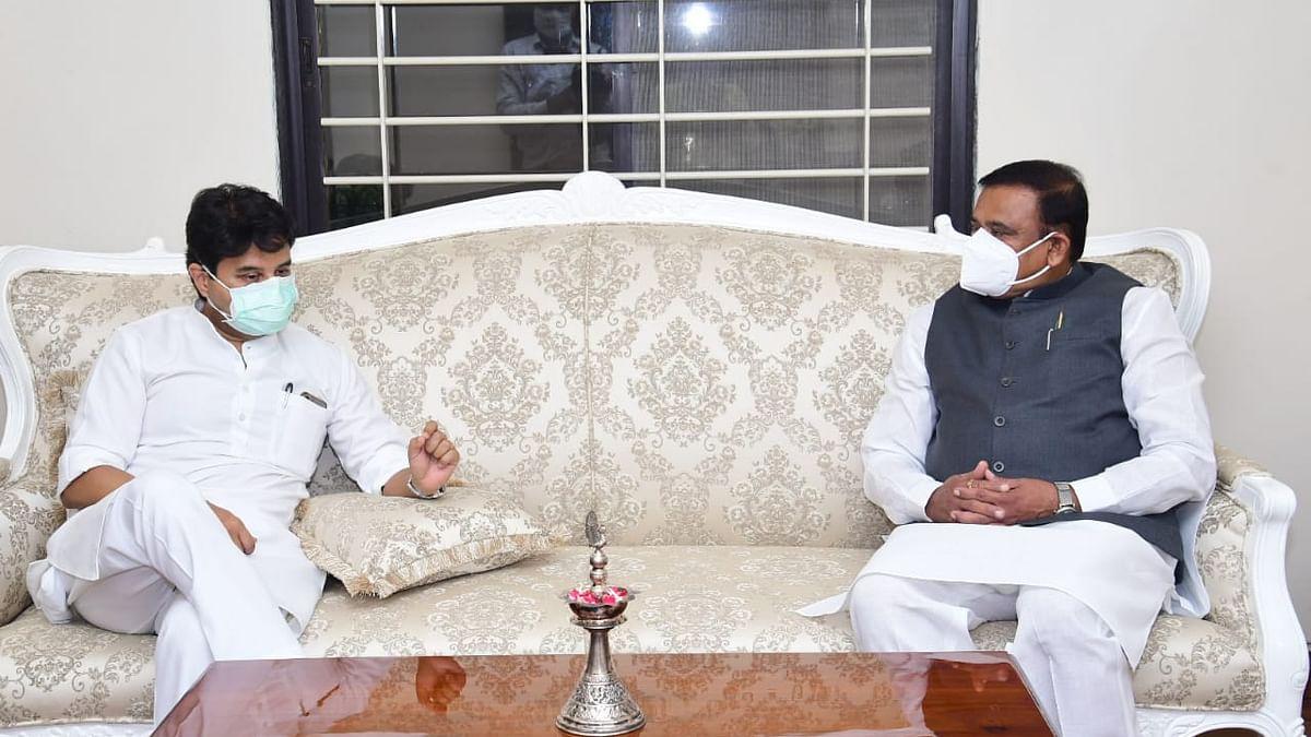 भोपाल: सांसद सिंधिया के साथ हुई मुलाकात के बाद बोले मंत्री भूपेंद्र सिंह