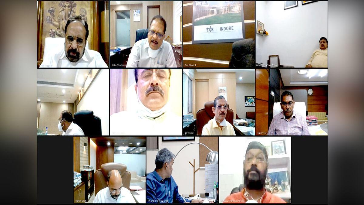 मंत्री भार्गव की अध्यक्षता में मंत्रि-परिषद समूह की Virtual बैठक आयोजित