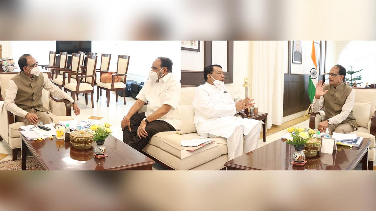 मुलाकातों का दौर जारी: आज CM से मिले मंत्री बिसाहूलाल सिंह और गोपाल भार्गव