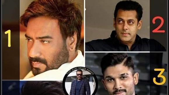 अजय देवगन गूगल ट्रेंड्स पर बने नंबर 1
