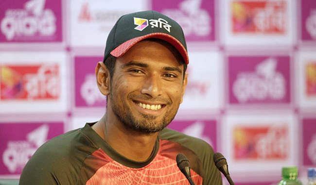 क्रिकेट : Mahmudullah Bangladesh की Test टीम में शामिल