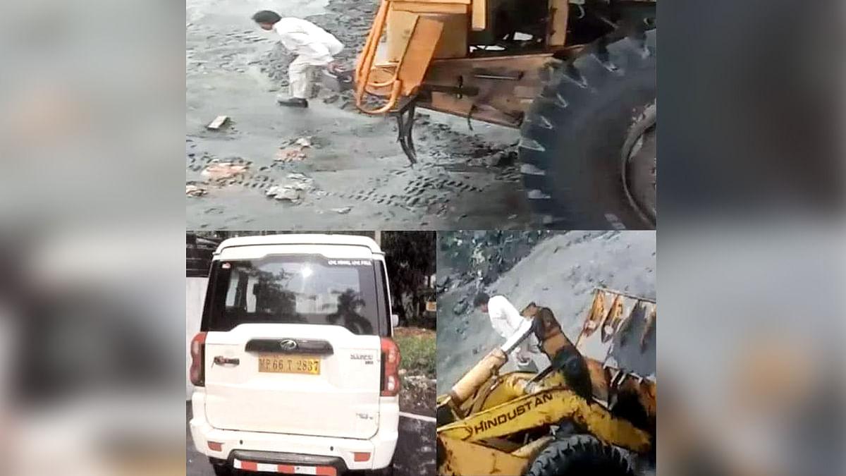 NCL खदान में डीजल चोरी करते पकड़ाया चोर, नवानगर पुलिस ने की कार्रवाई