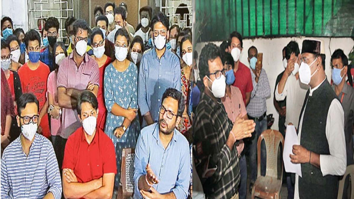 मंत्री विश्वास सारंग से मुलाकात के बाद जूनियर डॉक्टरों ने खत्म की हड़ताल