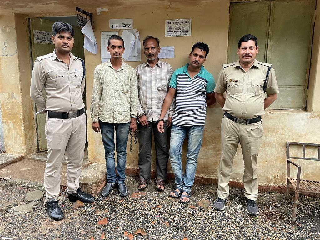 बरगवां पुलिस की तत्परता से समय रहते एल्युमीनियम सहित 3 हुए गिरफ्तार