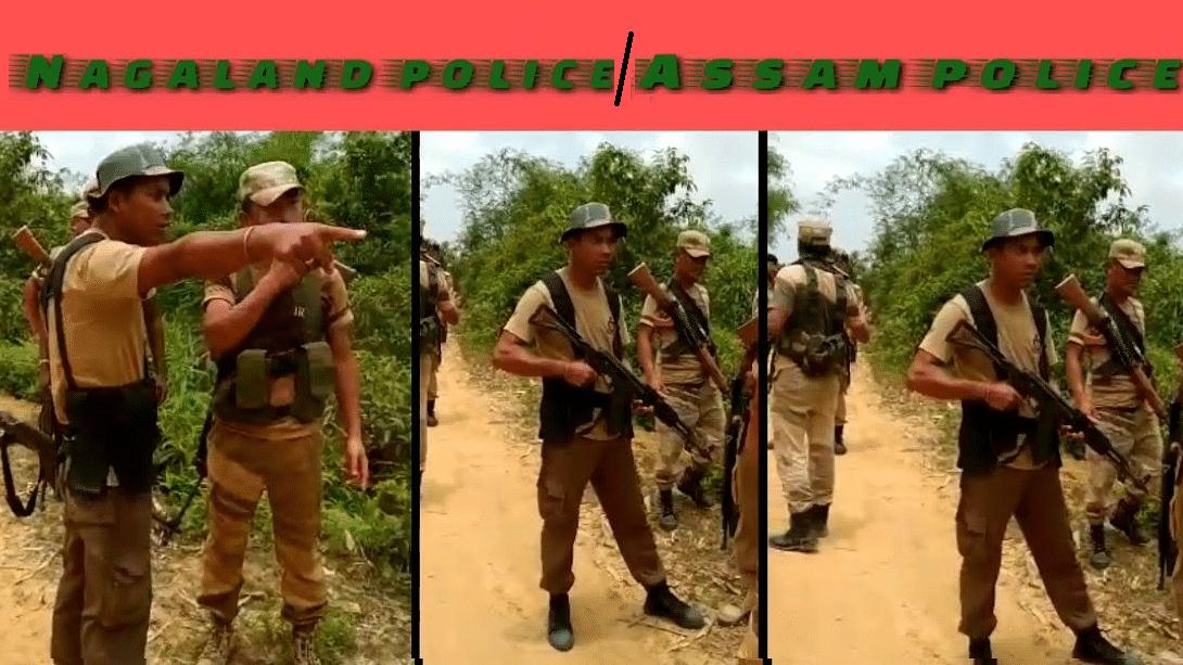 नगालैंड और असम के बीच सीमा तनाव