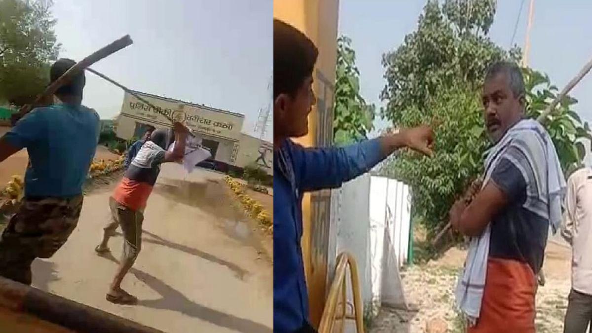 BJP के पूर्व जिलाध्यक्ष के बेटे की दो लोगों ने डंडों से की पिटाई, केस दर्ज