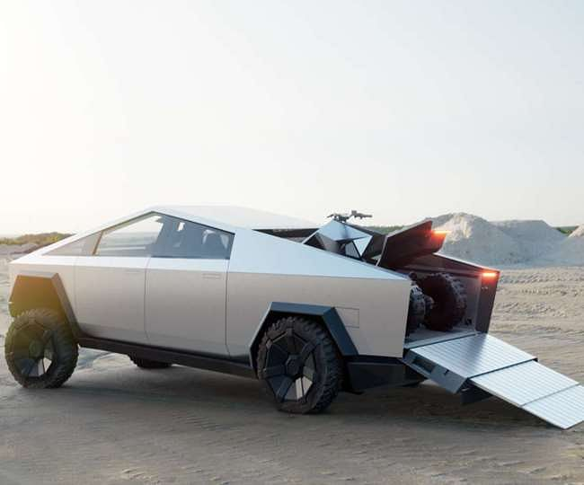 Tesla के अनोखे ट्रक 'Cybertruck' ने लांच से पहले तोड़े बुकिंग के रिकॉर्ड