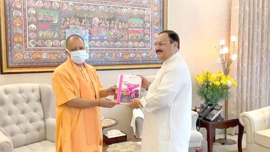 दिल्ली आए UP के CM की ताबड़तोड़ मीटिंग- अब नड्डा से मिले योगी