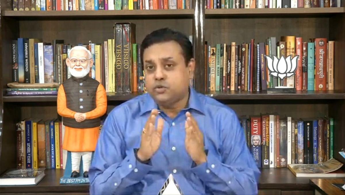 राशन को लेकर भाजपा के राष्ट्रीय प्रवक्ता संबित पात्रा का CM केजरीवाल पर तंज