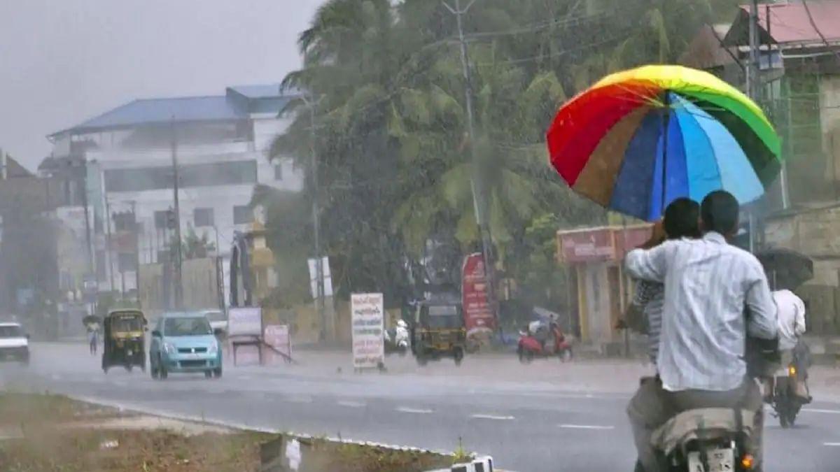 मौसम विभाग का अलर्ट : मध्य प्रदेश के 13 जिलों में हो सकती है तेज बारिश