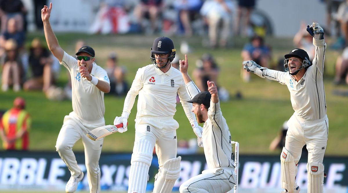 क्रिकेट : न्यूज़ीलैंड टेस्ट सीरीज जीतने की दहलीज पर